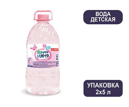 Упаковка ФрутоНяня Детская вода. ПЭТ. 5 л.