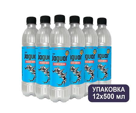 Упаковка Jaguar. ПЭТ. 500 мл. Энергетический напиток.