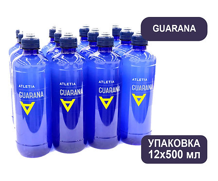 Упаковка ATLETIA GUARANA. ПЭТ. 500 мл