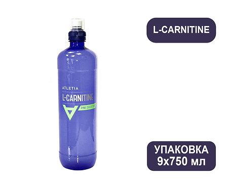 Упаковка ATLETIA L-CARNITINE. ПЭТ. 750 мл