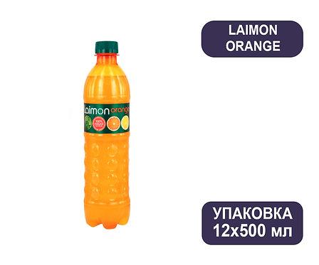 Упаковка Laimon Orange. ПЭТ. 500 мл.