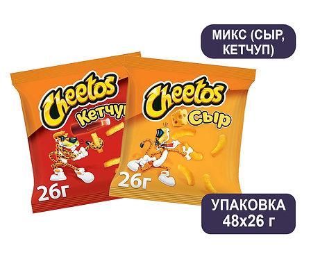 Коробка Cheetos Микс. 26 г. (сыр, кетчуп)
