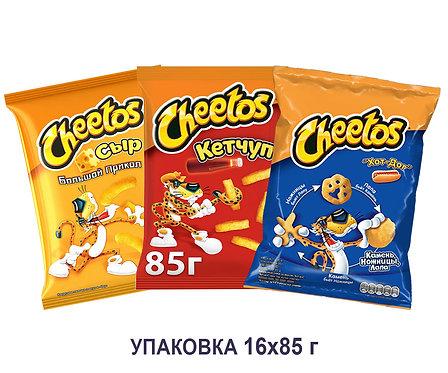 Коробка Cheetos. 85 г. (большой прикол сыр, кетчуп большой прикол, хот дог)
