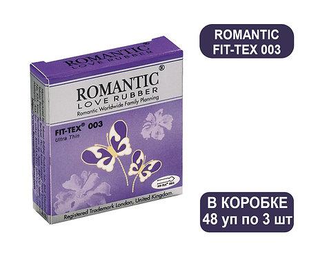 Коробка Презервативов ROMANTIC FIT-TEX 003 3 PCS