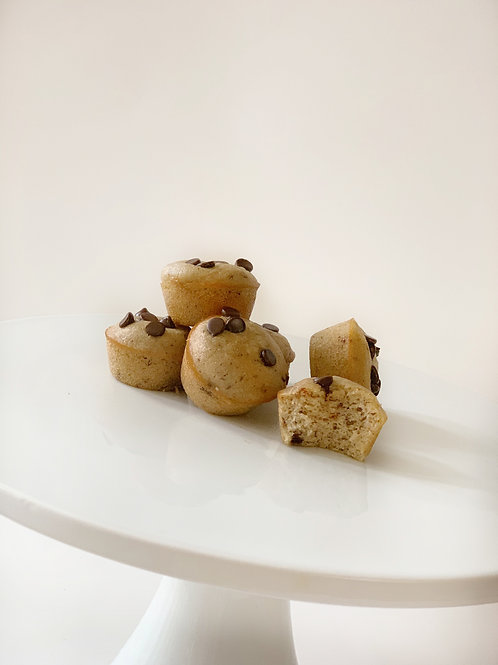 Chocolate Chip Pancake Muffins