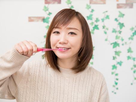 感染予防に歯磨き