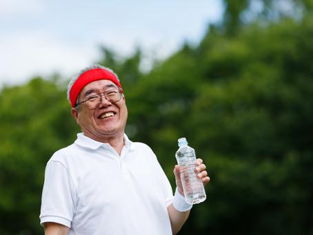 脱水のサイン(高齢者) わきの下の湿り気(2021.7.19)