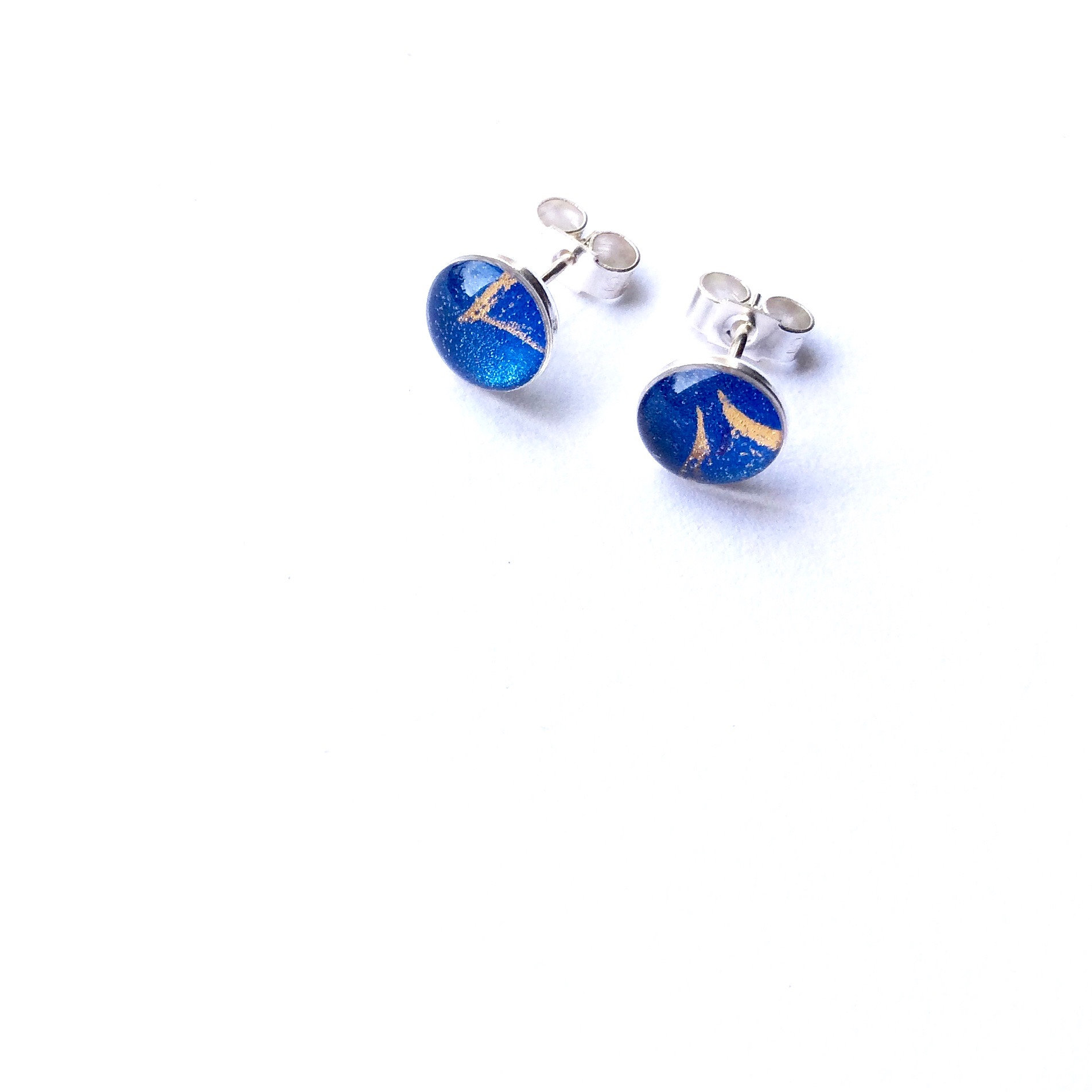 portfolio drop earrings cobalt lorimer blue in jewellery