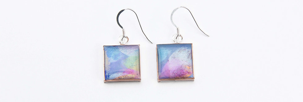 'Monte Solaro' Large Square Earrings