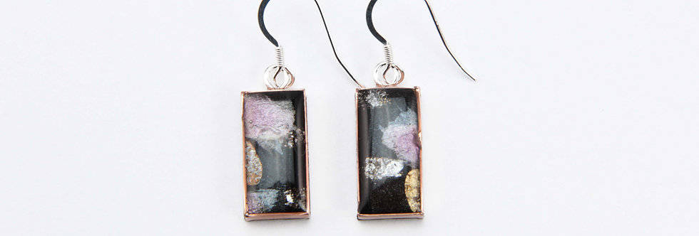 'Via Camerelle' Small Rectangular Earrings
