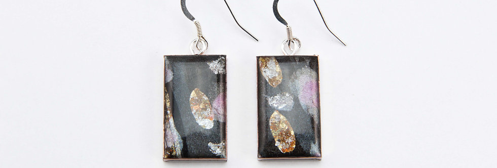 'Via Camerelle' Large Rectangular Earrings