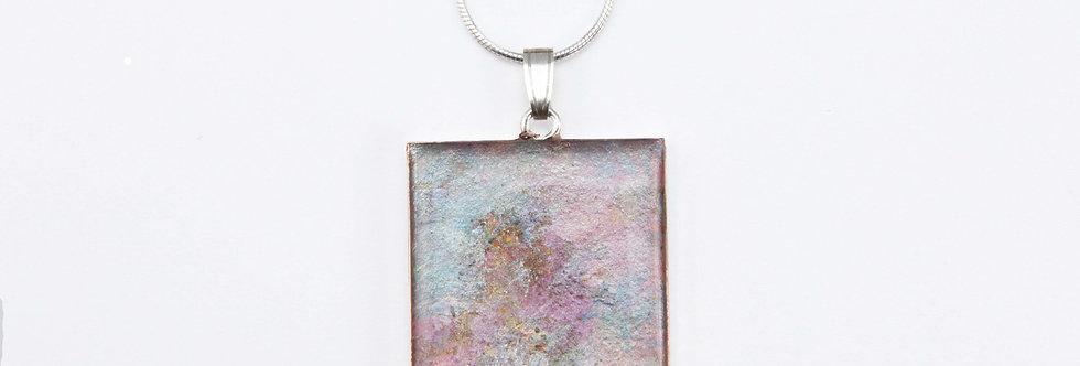 'Marble' Square Pendant