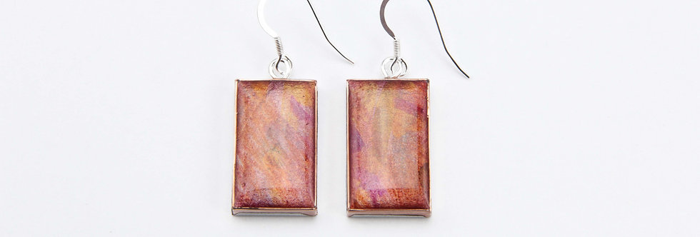 'The Jetty' Large Rectangular Earrings