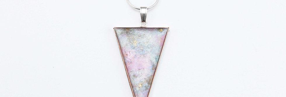 Marble - Triangular Pendant