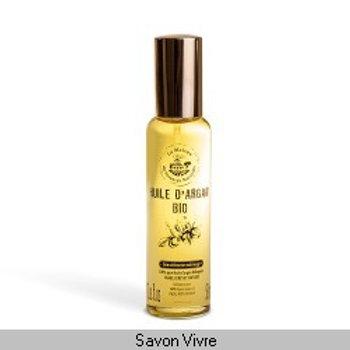Spray huile d'argan vierge bio 50ml
