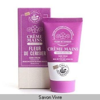 Crème main tube de 75ml fleur de cerisier