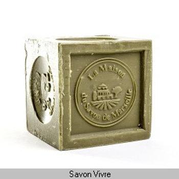 Savon de Marseille cube 300g huile d'olive.