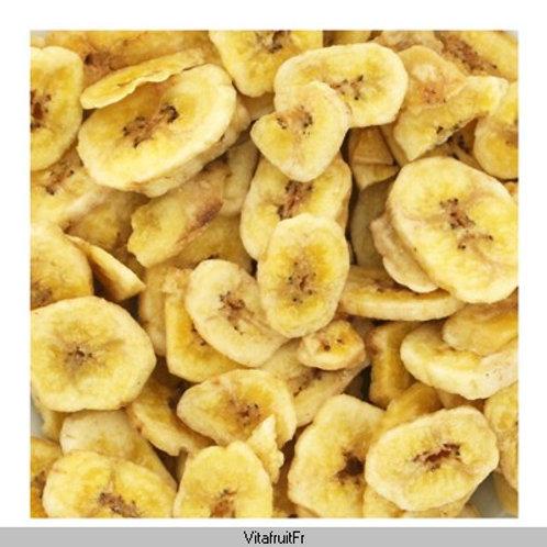 Banane en tranche.