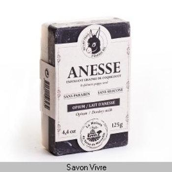 Savon bio 125g lait d'anesse-opium
