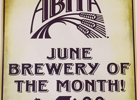 June brewery of the month andhappy hour!