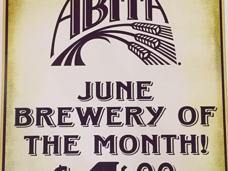 June brewery of the month and happy hour!