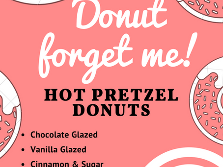 Donuts at Pretzel and Pizza Creations Hagerstown!