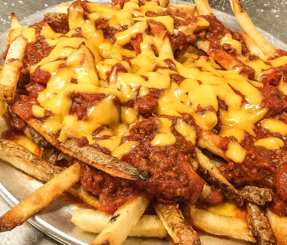 Chili Cheddar Fries