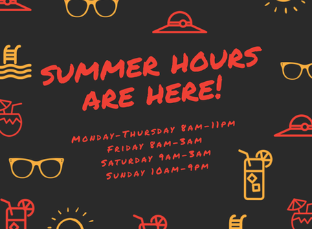 🚨Summer Hours at PPC FREDERICK!🚨