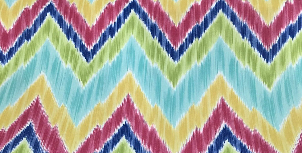 Ikat - Chevron - Tribal Multicolored