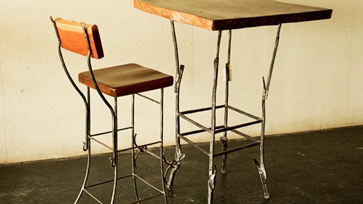 שולחן בר - ריבוע
