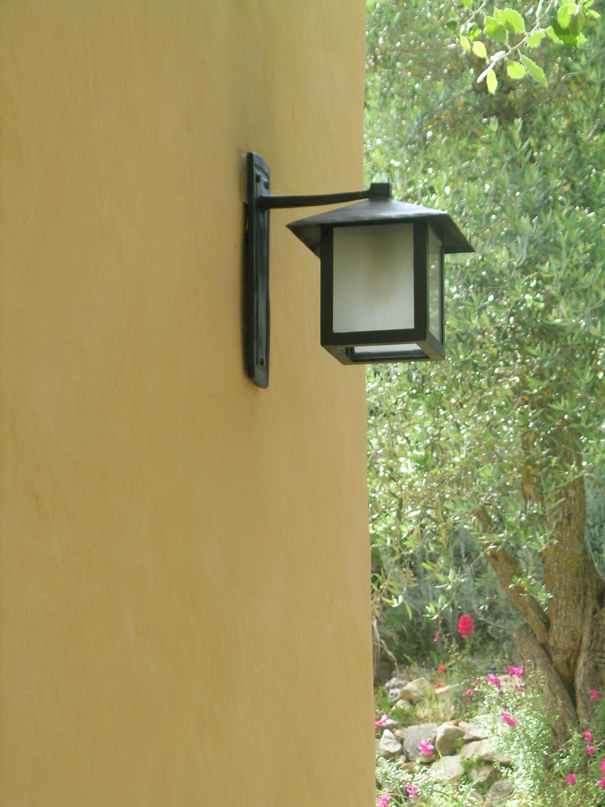 מנורת קיר יפנית של יובל