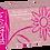 Thumbnail: Blossom Pink Chloroprene Powder Free Textured Exam Gloves