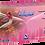 Thumbnail: Avianz Pink Chloroprene Powder Free Textured Exam Gloves