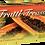 Thumbnail: Frutti Treasure Black Nitrile Powder Free Textured Exam Gloves