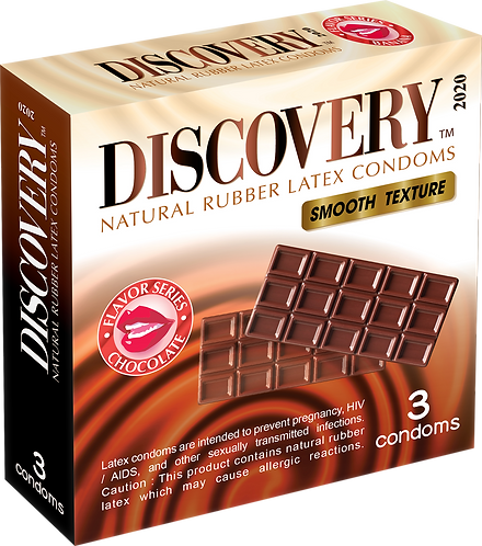 Discovery Smooth Condom (Chocolate)