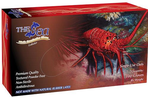 The Sea Lila Nitrile Powder Free Textured Exam Gloves (NON-USA)