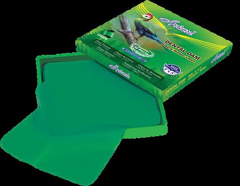 Avianz Green Rubber Dental Dam