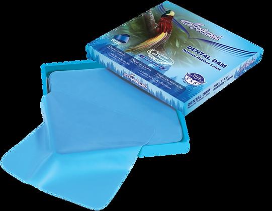 Avianz Light Blue Rubber Dental Dam