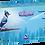 Thumbnail: Avianz Light Blue Chloroprene Powder Free Textured Exam Gloves