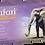 Thumbnail: Safari Lila Nitrile Powder Free Textured Exam Gloves (Non-USA)