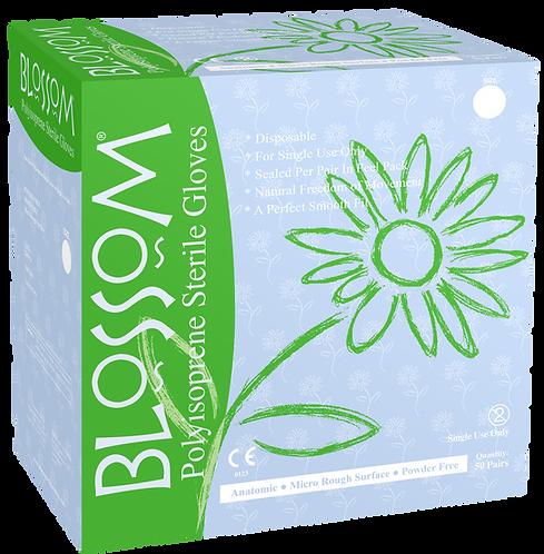 Blossom Polyisoprene Powder Free Textured Sterile Surgical Gloves