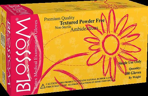 Blossom Orange Nitrile Powder Free Textured Exam Gloves