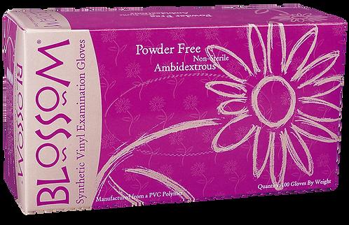 Blossom Vinyl Powder Free Exam Gloves