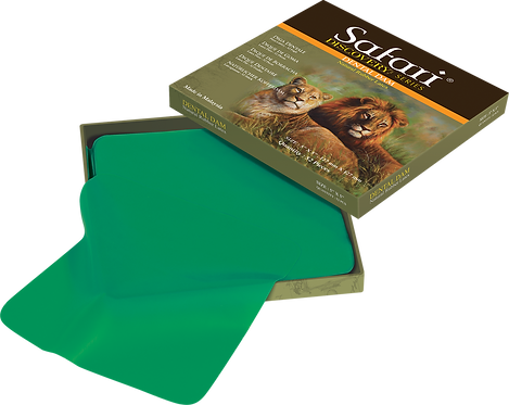 Safari Green Rubber Dental Dam - Natural Rubber Latex