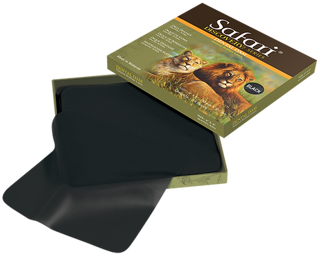 Safari Black Rubber Dental Dam - Natural Rubber Latex