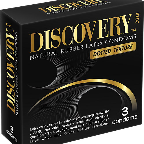 Discovery Dotted Condom