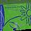 Thumbnail: Blossom Blue Nitrile Powder Free Textured Exam Gloves