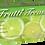 Thumbnail: Frutti Treasure Green Mint Latex Powdered Exam Gloves (NON-USA)
