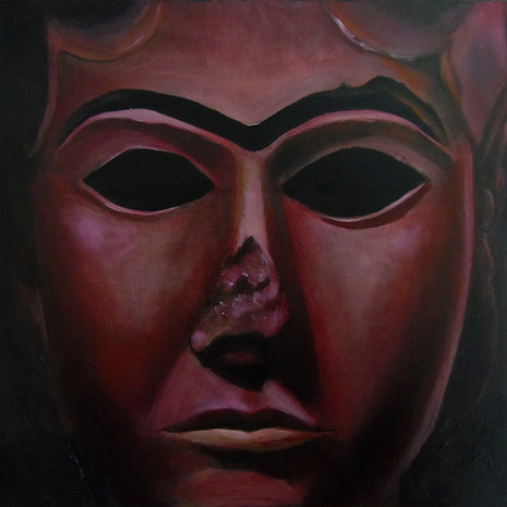The Mask of the Red Goddess