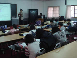 Second D.P. Training Workshop with the 12th Class Students